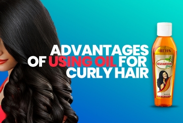Advantages of Using Oil For Curly Hair
