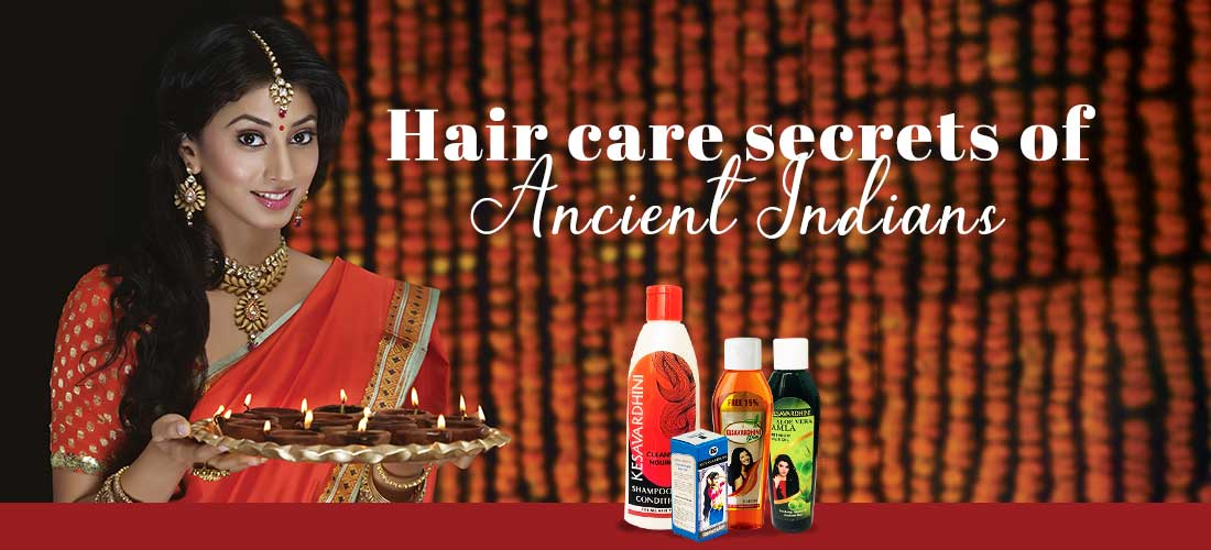 Hair Care Secrets of Ancient Indians